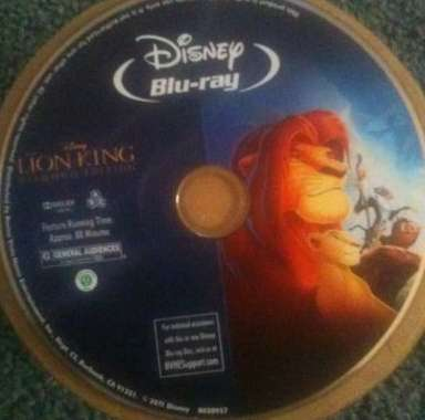 The Lion King, 3D Blu-Ray