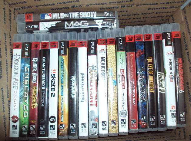 Lot of 20 Sony PS3 Games
