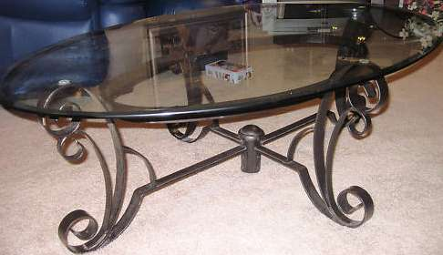 Oval Glass Coffee Table Honolulu HI OrangeDovenet