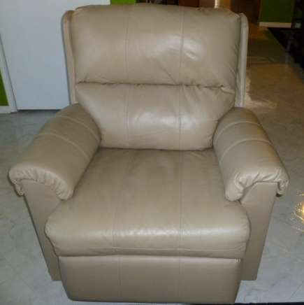 Leather Rocking Recliner by Ashley Furnitures