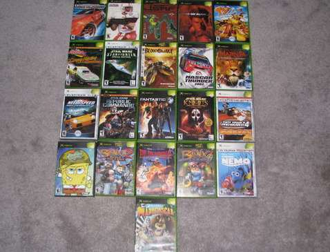 Xbox Video Games Lot