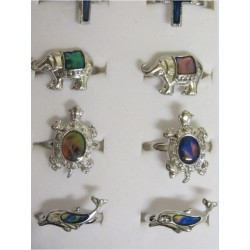 New Mood Rings Many Designs Many Sizes PLUS Free Shipping