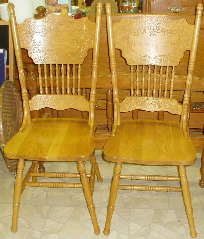 Antique Oak Dining Chairs - Antique Oak Dining Chairs - Worcester, MA OrangeDove.net