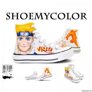 Customize Your Own Sneakers with The Naruto