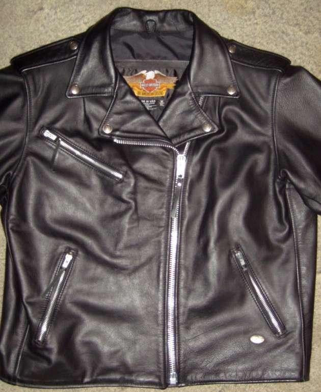 harley-davidson women's cotton jacket - denver, co | orangedove