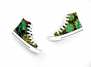 Newest Arrival -- Skulls Devil Cartoon Hand Painted Shoes