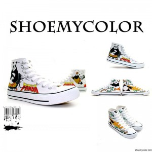 Hand Painted Shoes Derived From Popular Films