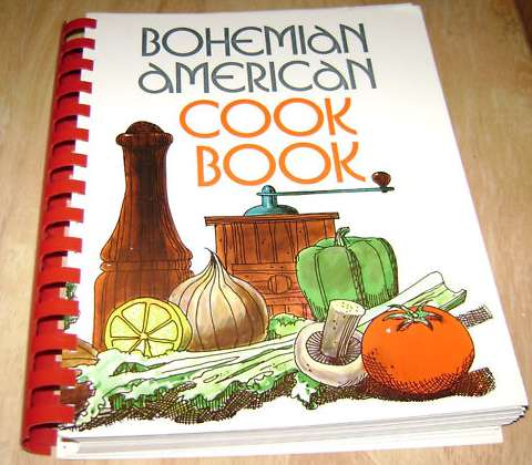Bohemian American cookbook
