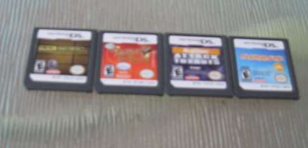 Lot of 4 Nintendo DS Games