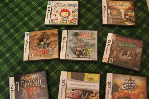 Lot of 8 Nintendo DS Games
