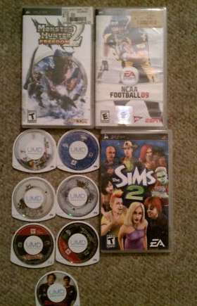 PSP Games - Lot of 5