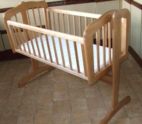 mothercare wooden swinging crib