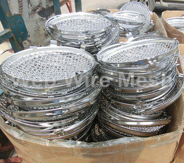 Headlamp Wire Mesh Stone Guards,Fits on Vintage Car