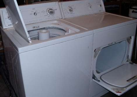 kenmore washer and dryer heavy duty
