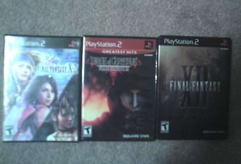 Final Fantasy PS2 Games