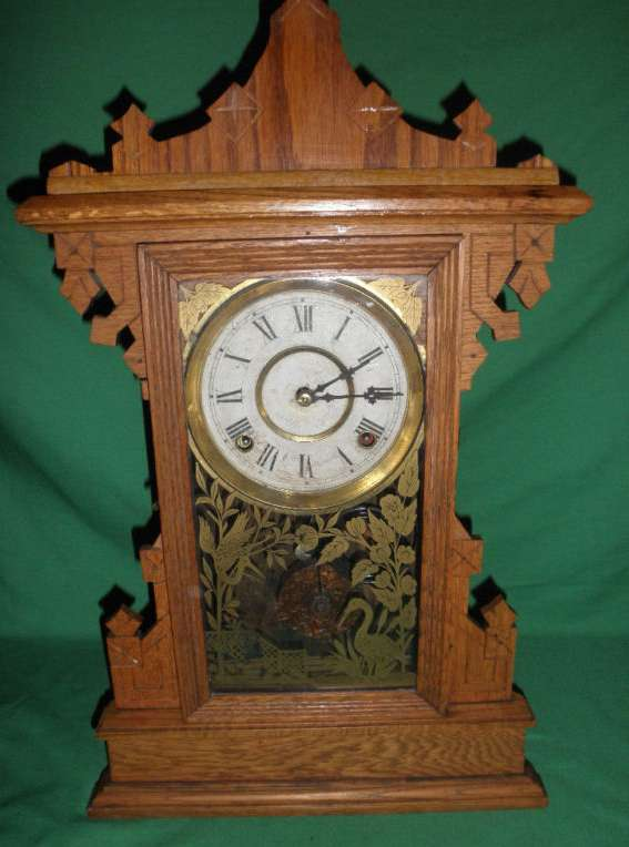 Antique Clock by W&L Gilbert Clock Co