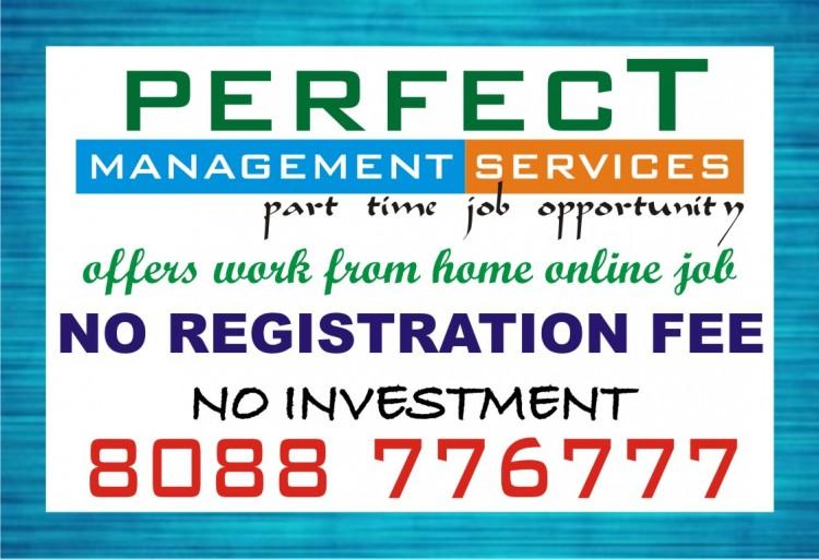 Without Registration fee copy paste Job   make additional