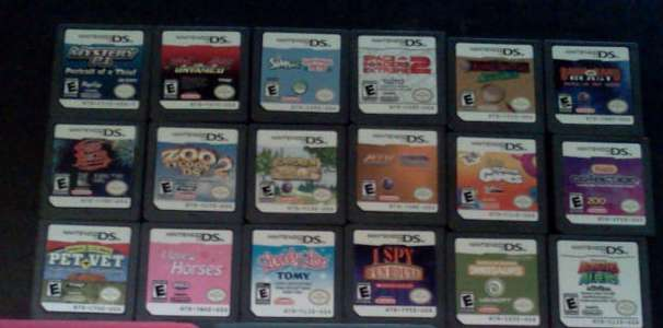 18 Nintendo DS/DSI Games