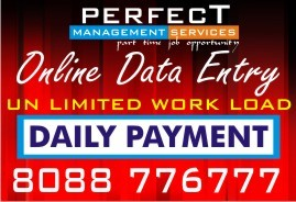 Bangalore Home based Daily Payment job | Copy paste job Daily Earnings | part time job