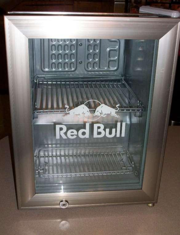 Sofa Liquidation Ge Refrigerator: Red Bull Refrigerator