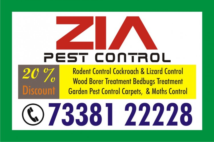 Zia Pest Control Service 829 | 7338122228 | Office | Apartments | Residents