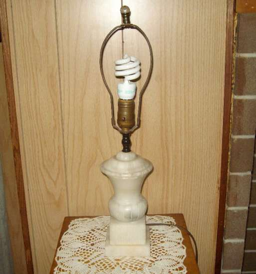 Vitage Marble Table Lamp