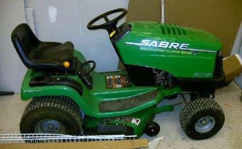 John Deere Sabre >> John Deere Sabre 1438 Hs Lawn Tractor Louisville Co