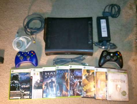 Custom call of duty xbox 360 elite with modded controller for sale.