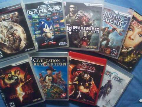 PlayStation 3 Games Lot