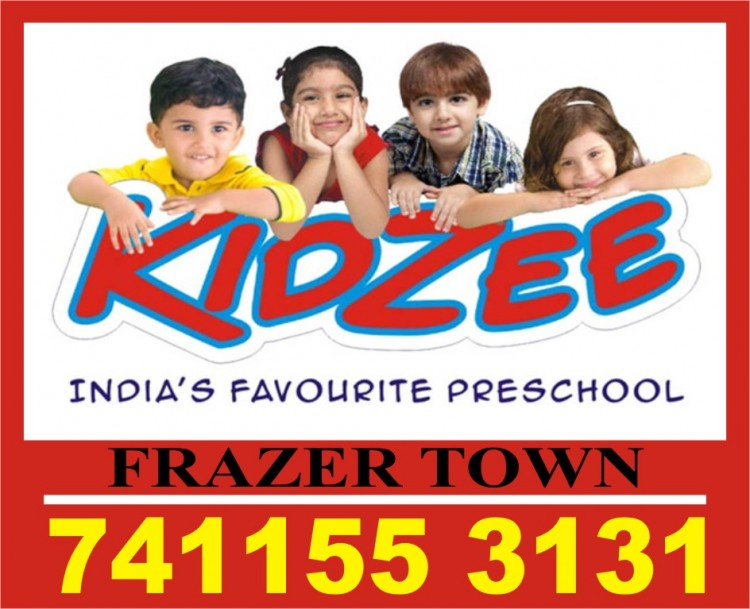 Kidzee | 7411553131 | 1146 | Asia's No. 1 preschool | Frazer Town | Play School