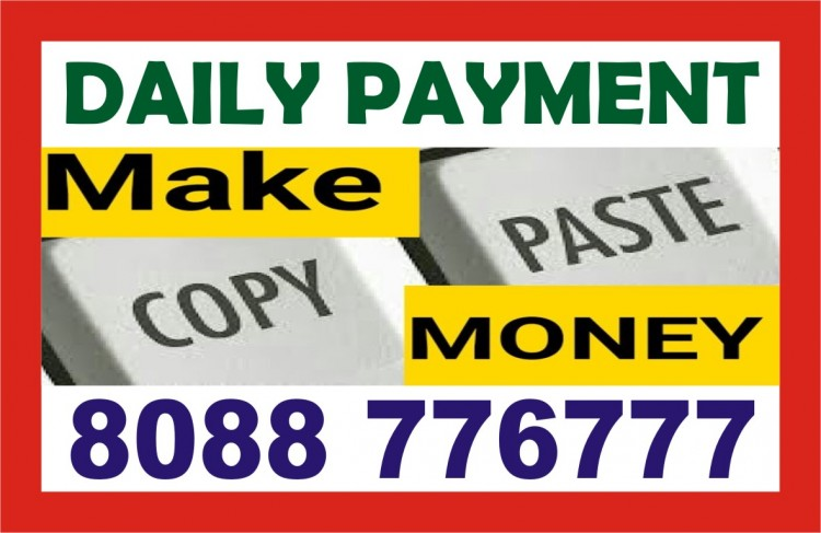 Earn Daily  Rs. 200 To 400/- per day | 8088776777 | 1279 | Data entry