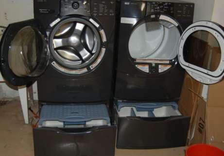 Kenmore Elite He3 He4 Washer Dryer Set