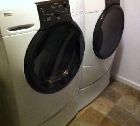 Kenmore Elite He3 Washer Dryer